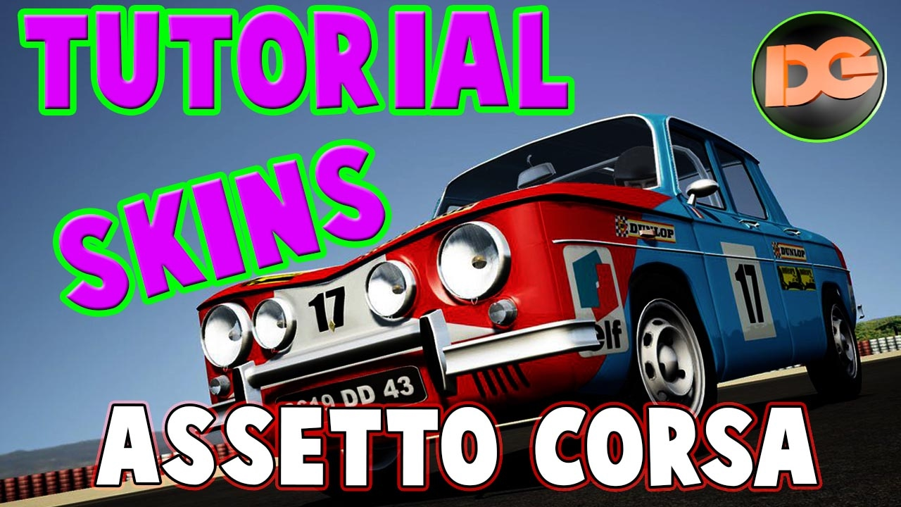 Skins Assetto Corsa Tutorial